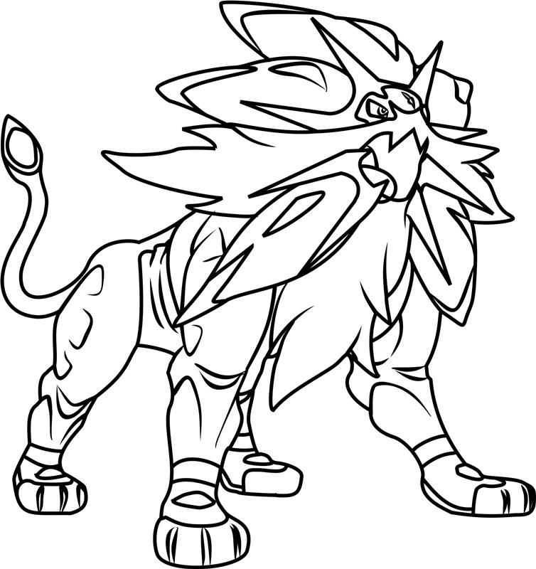 Pokemon Legendary Coloring Pages Moon Coloring Pages Pokemon Coloring Pages Pokemon Coloring