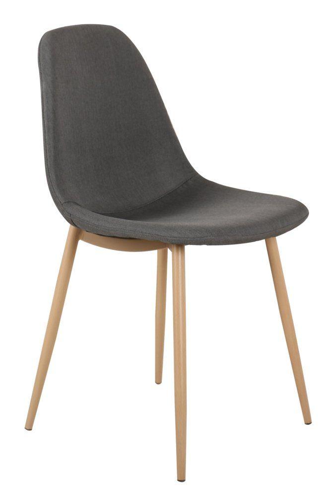 Chaises Tables Et Chaises Chaise Stockholm Design Scandinave Tissu Graphite Chaise Design Chaise Chaise Deco
