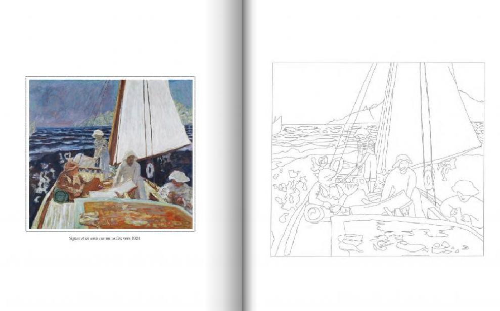 Pierre Bonnard - Créativité - Coloriage