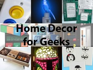 Superb Seriously Geeky Home Decor: Arcade Light Switch? A Working Nintendo  Controller Coffee Table? Dude.