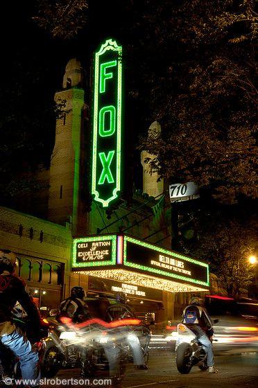 The Fabulous Fox Theater Sign Midtown Atlanta