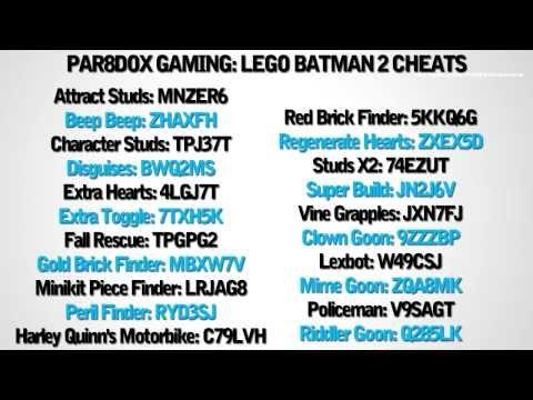 LEGO Batman 2 cheats for villein car | LEGO BATMAN 2: DC ...