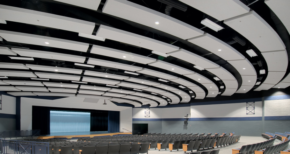 Foundations Panels And Tiles Use A Textured Finish That Adds A Soft Drywall Look In 2020 Acoustical Ceiling Acoustic Panels Wall Clips