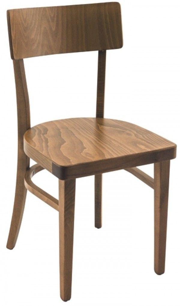 Stuhl Esther Braun Gebeizt Stuhle Sitzen Stuhle Stuhl Holz Beizen