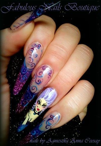 ROCOCO by Agusia - Nail Art Gallery nailartgallery.nailsmag.com by Nails Magazine www.nailsmag.com #nailart