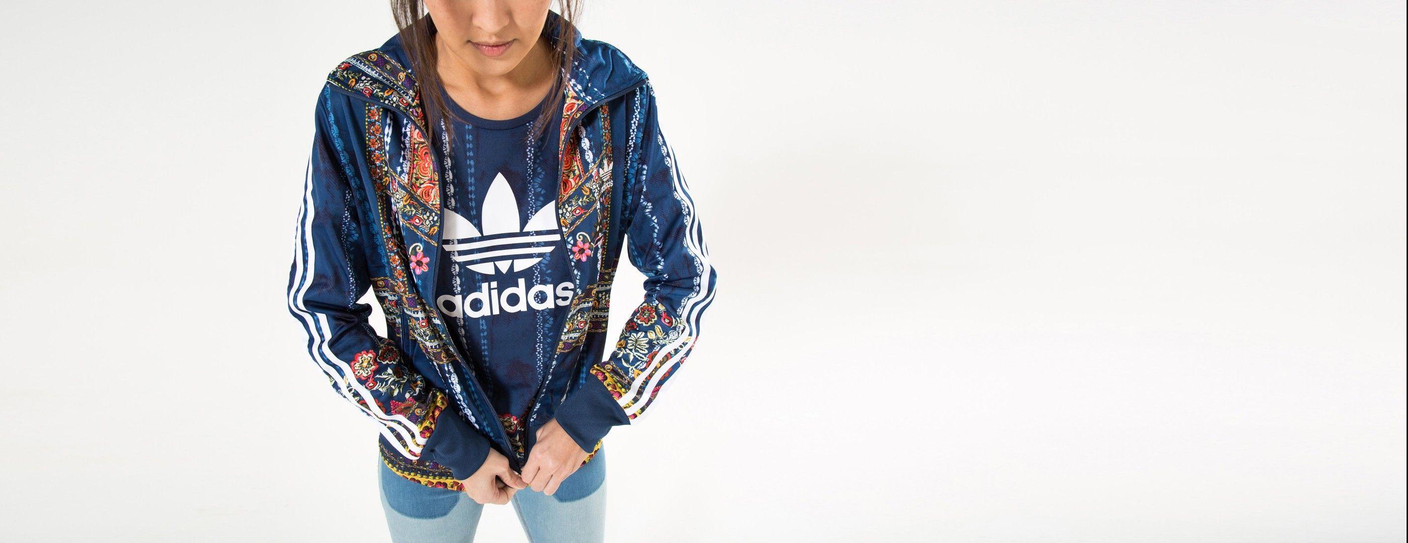jaqueta cirandeira adidas   FARM