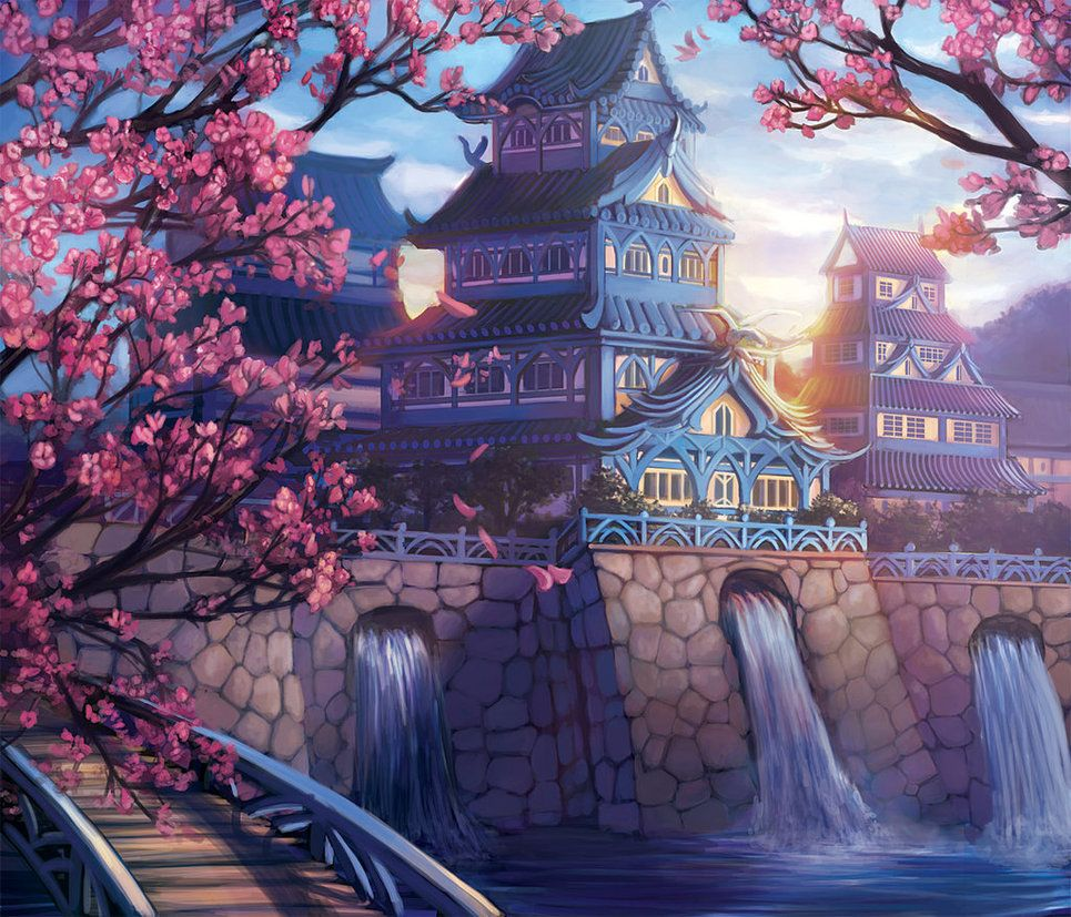 The Exquisite Palace of the Crane by Alayna on deviantART