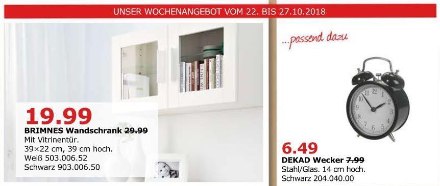 Ikea Dusseldorf Brimnes Wandschrank Mit Vitrinentur
