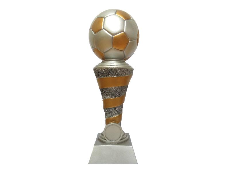Trofeo en marmolina ref Balón olímpico