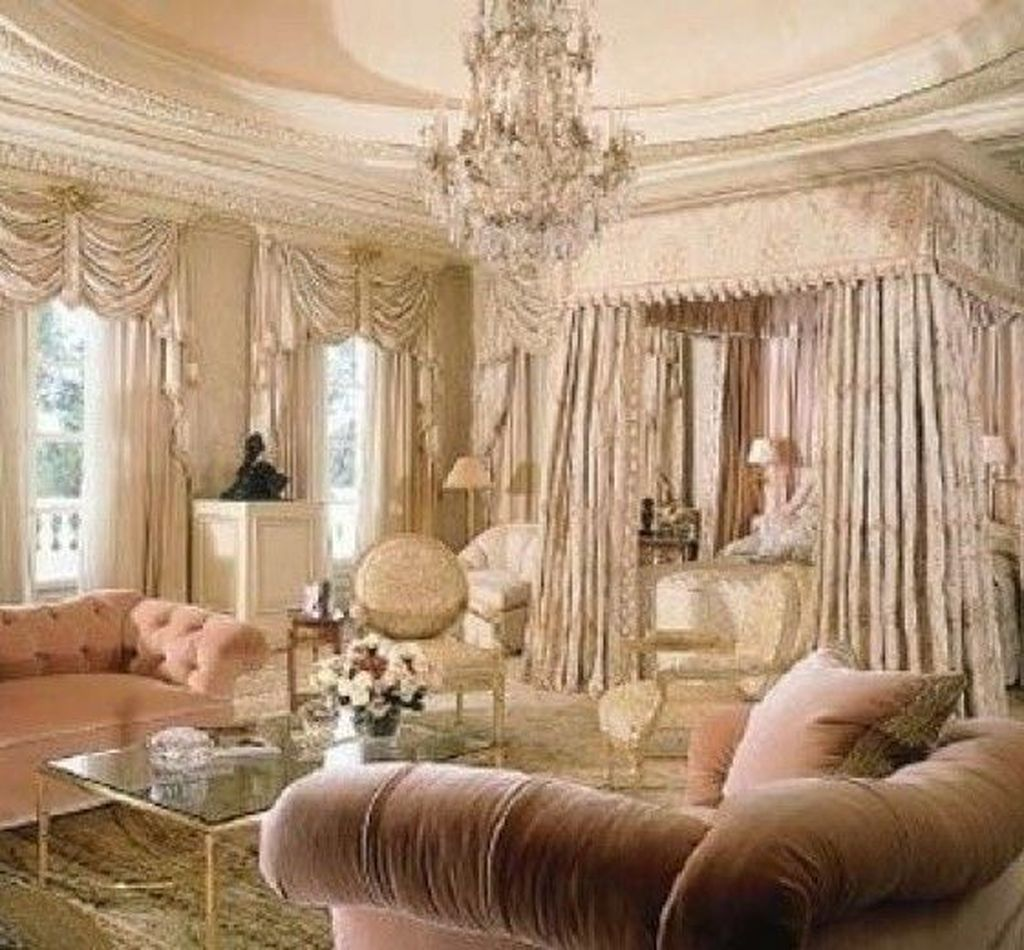 46 Amazing Luxury Champagne Bedroom Ideas With Elegant