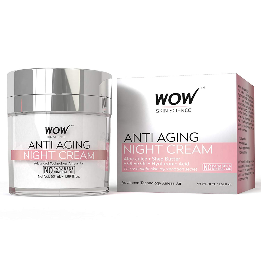Top 10 Best And Effective Anti Aging Moisturizers For Men And Women In India 2019 Reviews And B Anti Aging Night Cream Anti Aging Night Best Anti Aging Creams