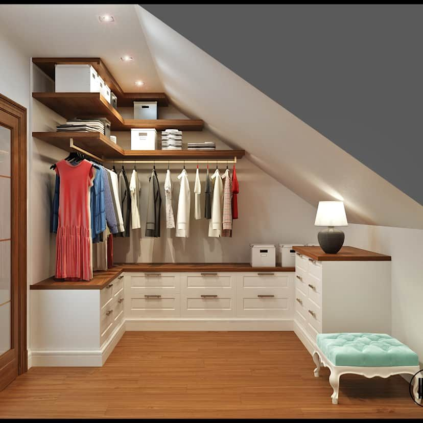 21 creative wardrobe ideas you can copy in your home | homify