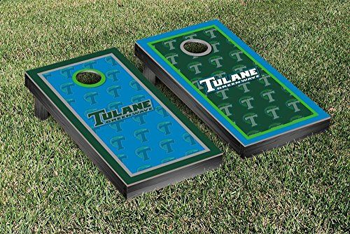 Tulane Green Wave Cornhole Game Set Border Version 2 ** Check out this great product.
