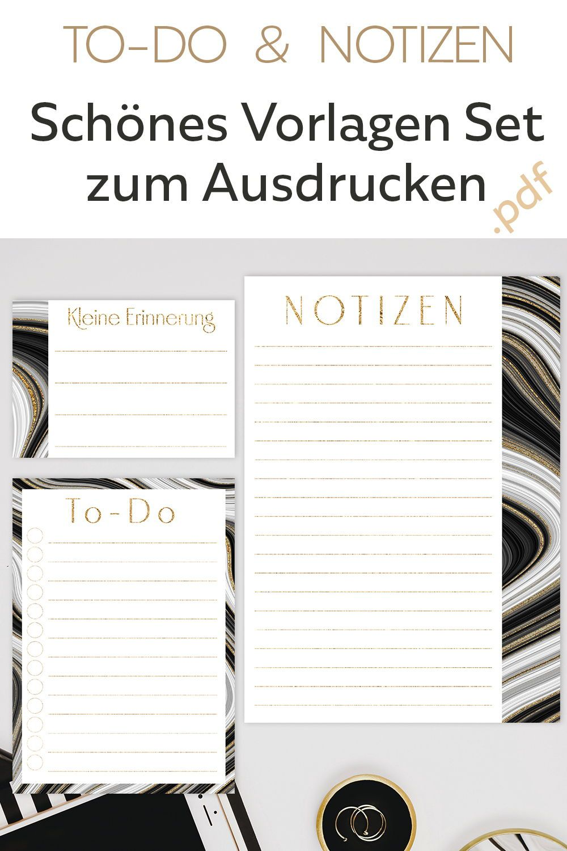 Notiz Zettel Ideen Kalender Notizen Planer 11