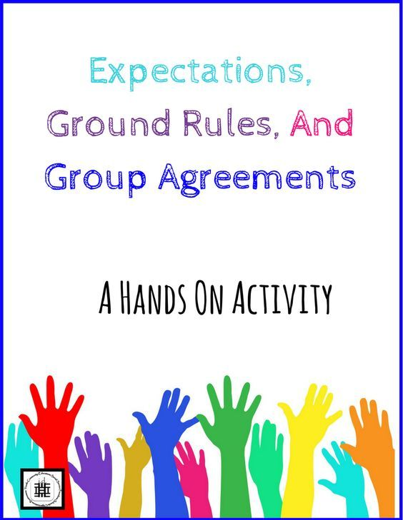 Expectations Ground Rules And Group Agreements A Hands On