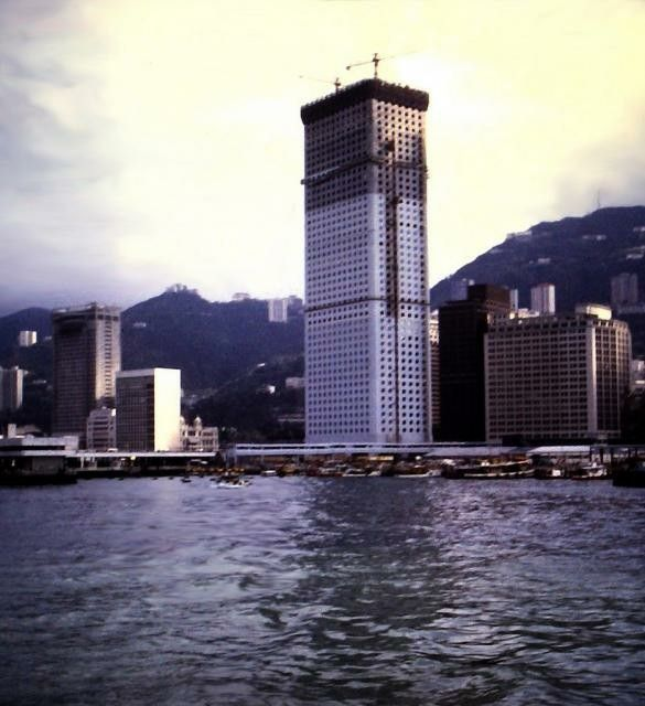 Jardine Matheson In Chinese: 1973 Connaught Bldg. Under Construction