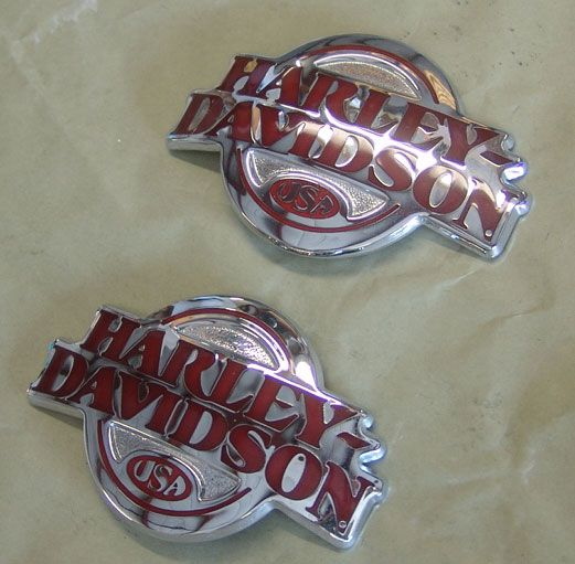 Harley-Davidson Tank Emblems / Medallions FOR SALE