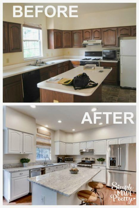 Need some inspiration to update your home? Check out these before and after pictures of our fixer-upper home! How can I redo my kitchen cheaply? What are the best home improvements for resale? How do you do a home renovation on a budget?
