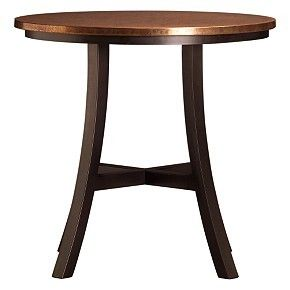 Crate And Barrel Round Copper Top Table