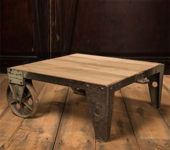 Good Industrial Cart Coffee Table