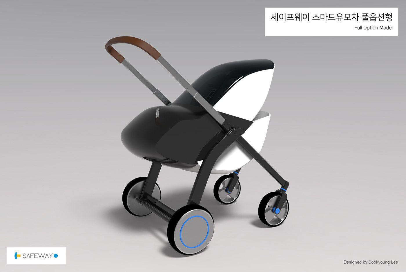 E Stroller Design On Behance 2020 유모차