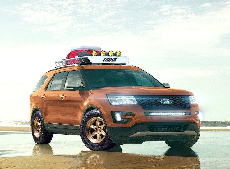 4 Wild 2016 Ford Explorer Sport Models Invade SEMA Ford