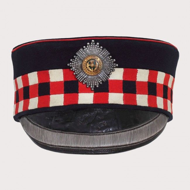 Victorian Royal Scots Officers Forage Cap