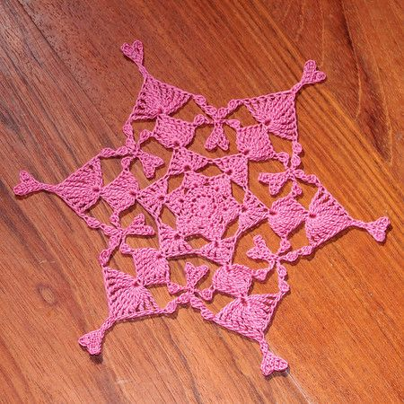 snowflake - crochet free pattern | Snowflakes | Pinterest | Stern ...