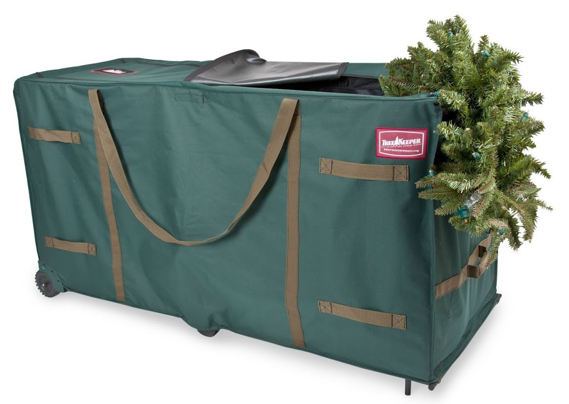 This Large Greenskeeper Tree Storage Bag Protects And Stores Your Artificial Trees After The Christmas Tree Storage Bag Christmas Tree Storage Tree Storage Bag