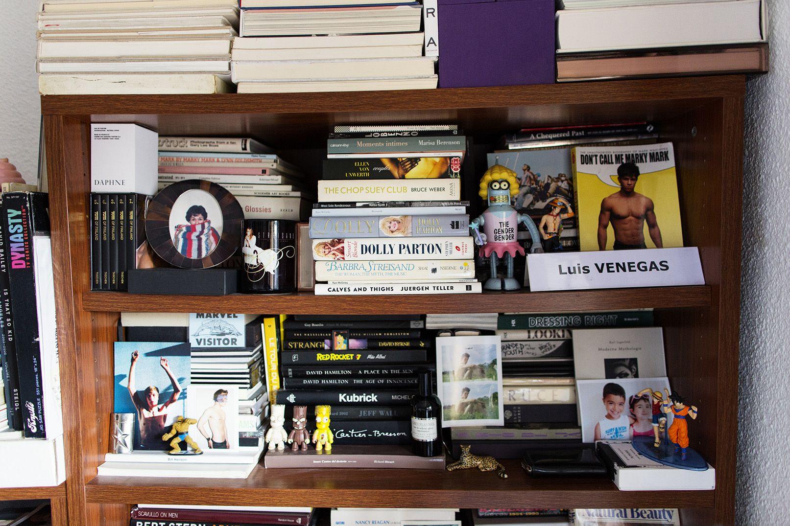 LUIS VENEGAS AT HOME IN MADRID