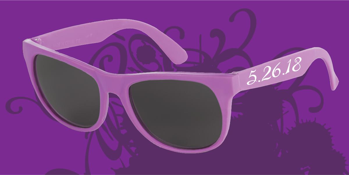 Custom sunglasses for wedding, wedding favor, bridal