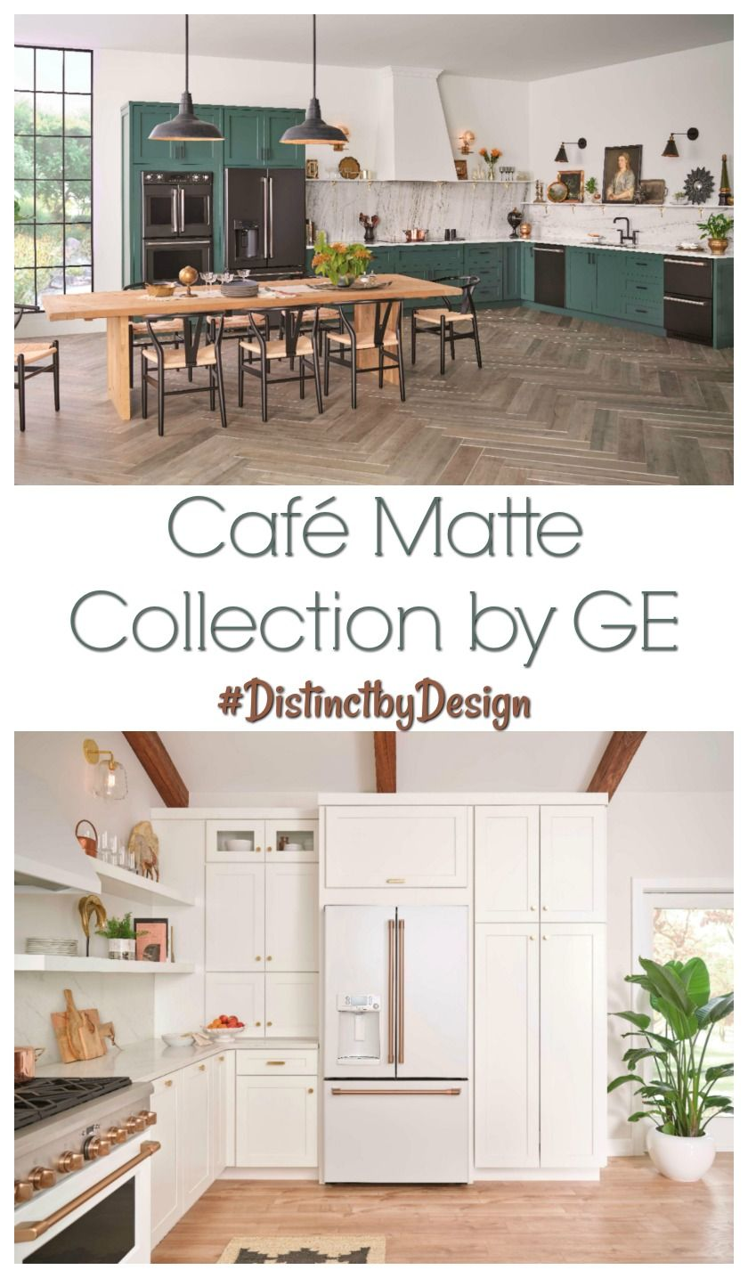 Café Matte Collection by GE Make your Appliances Personal
