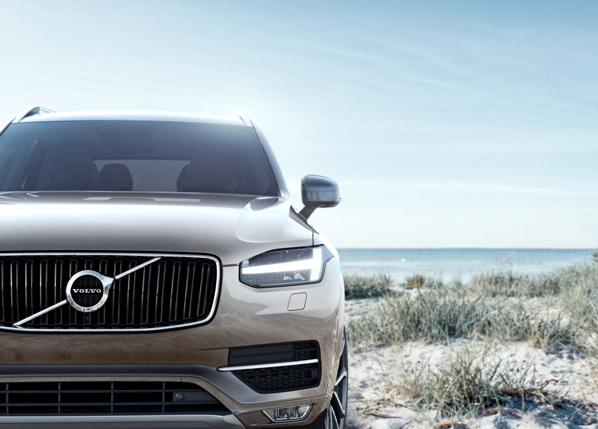 A Closer Look At The Grille Detail Of The All New Xc90 Volvo Cars Volvo Xc90 Volvo