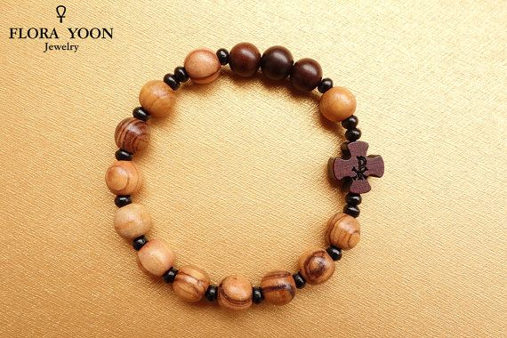 Hey I Found This Really Awesome Etsy Listing At Https Www 268942838 Olive Wood Rosary Braceletcatholic