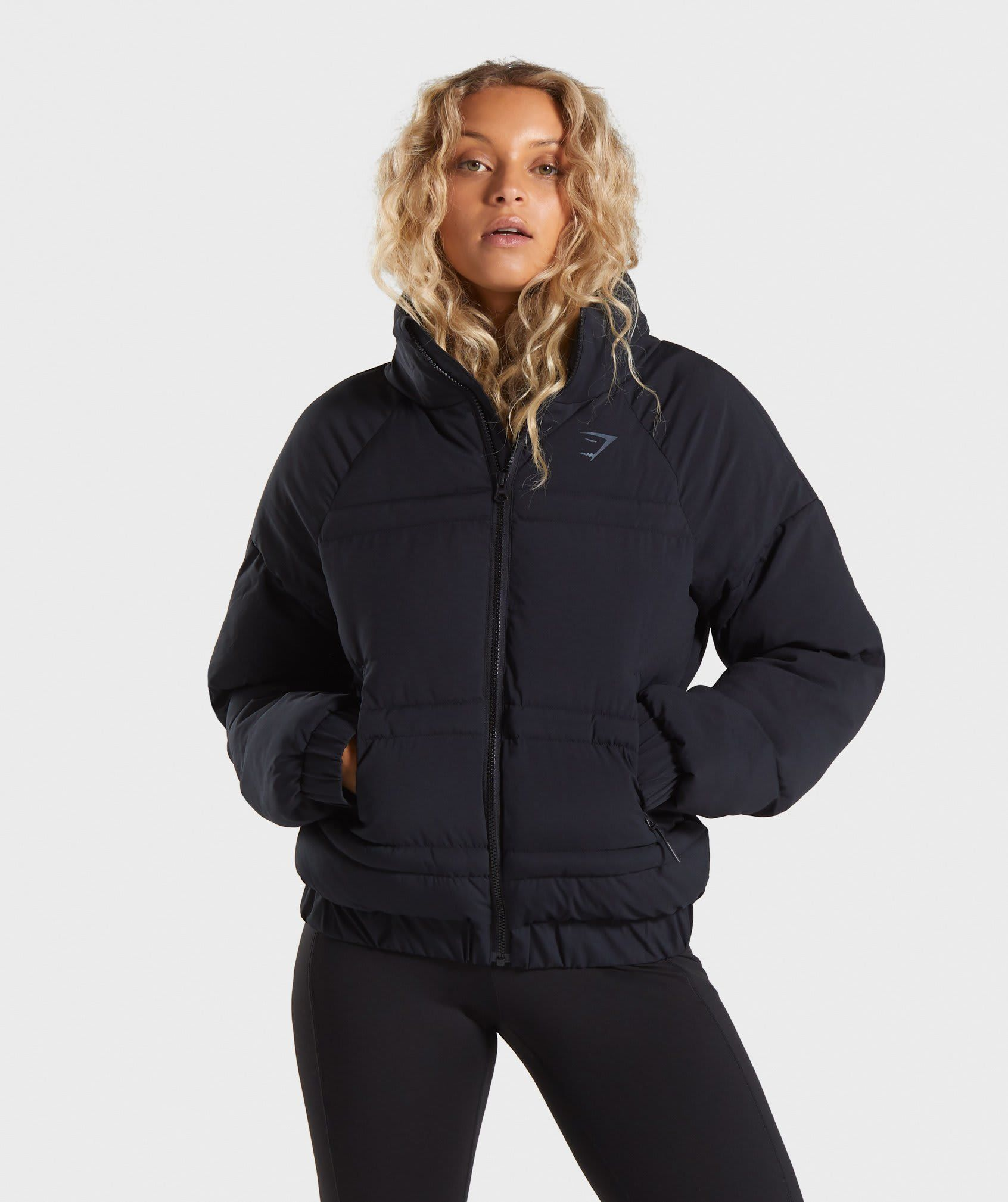 Gymshark Essential Puffer Jacket Black Neuheiten Gymshark Puffer Jacket Women Jackets Gymshark [ 2018 x 1692 Pixel ]