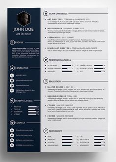 10 Best Free Resume Cv Templates In Ai Indesign Word Psd Formats Resume Template Word Best Free Resume Templates Free Resume Template Word
