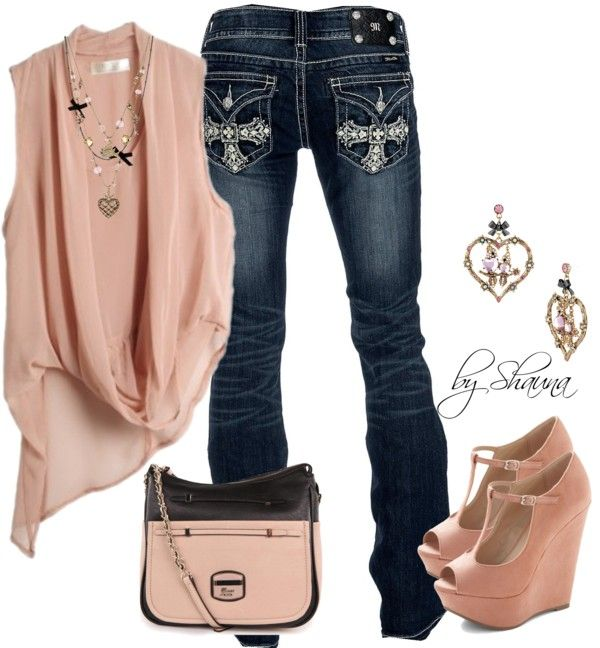 """""""cute wedges"""" by shauna-rogers on Polyvore"""