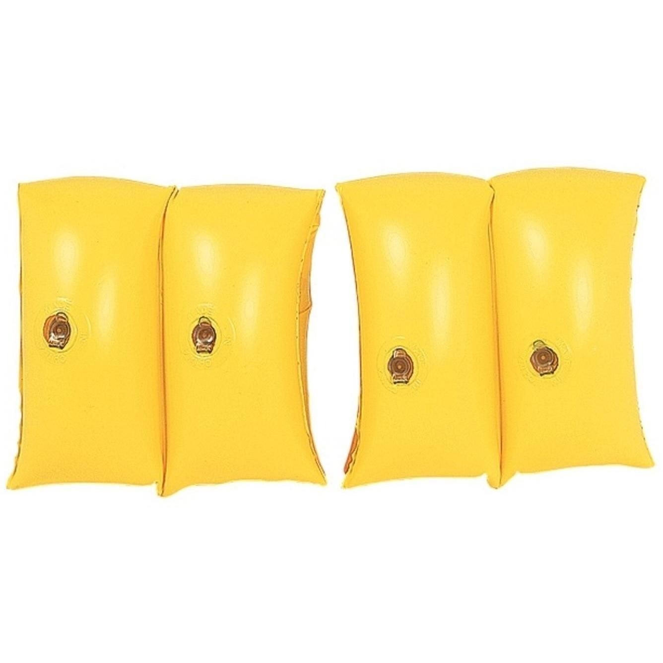 Jilong Set of 2 Yellow Inflatable Swimming Pool Arm Floats for Kids 3-6 Years 32148647