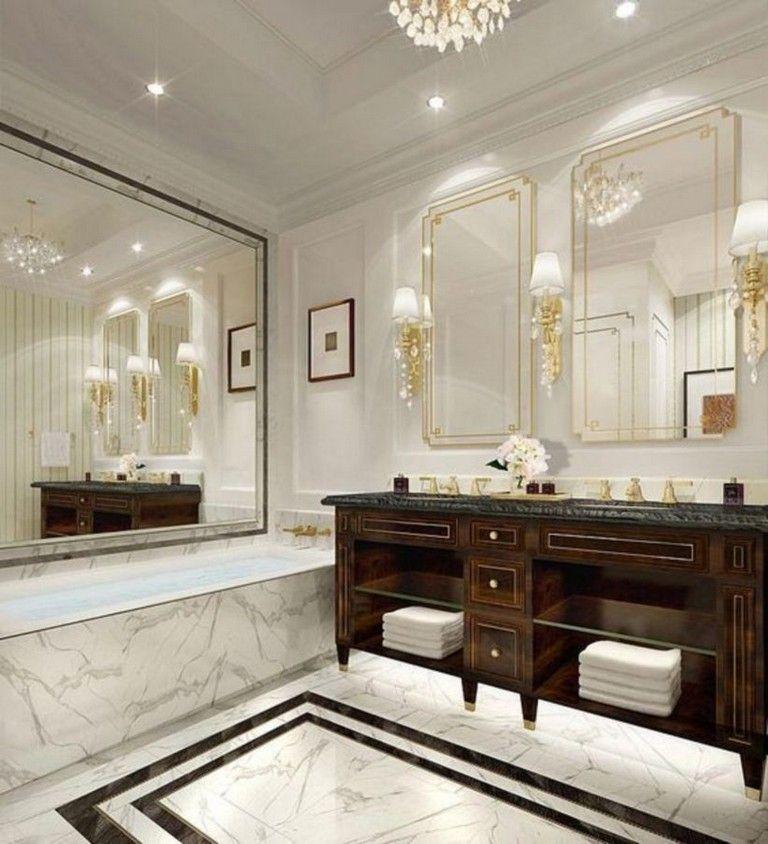 40 Nice Hotel Bathroom Design Ideas That Can Be Applied To Your Home In 2020 Hotel Bathroom Design Luxury Hotel Room Luxury Hotel Bathroom