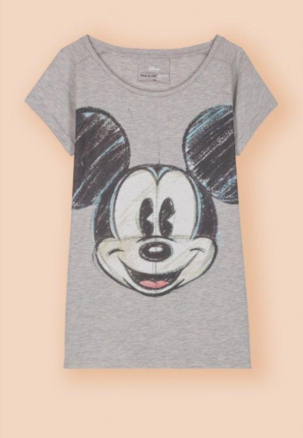 Grey Mickey T-shirt #PAUL&JOESistercollection