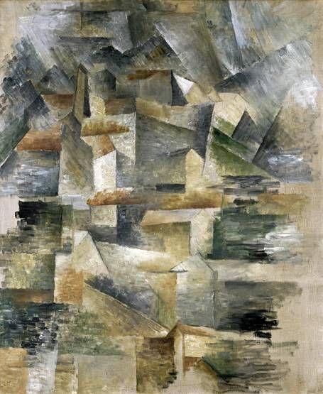 Georges braque les usines du rio tinto l estaque for Braque oeuvres