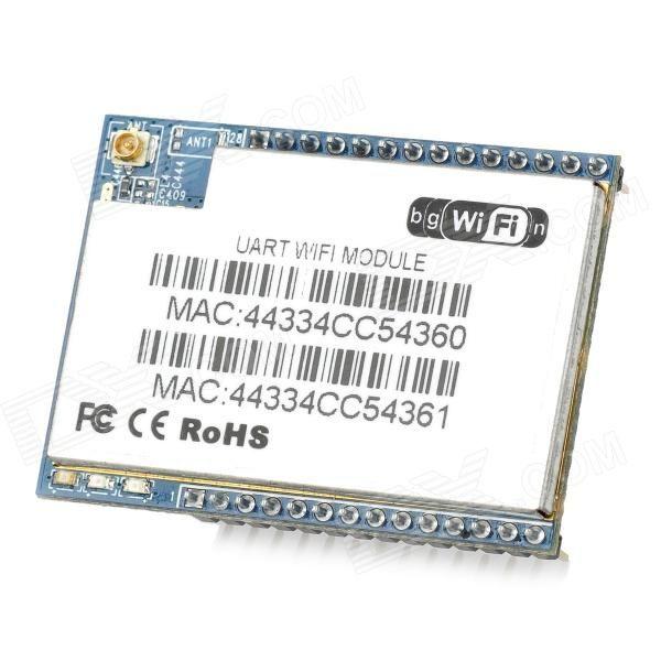 HI-LINK HLK-RM04 Serial Port-Ethernet-Wi-Fi Adapter Module - Blue + ...