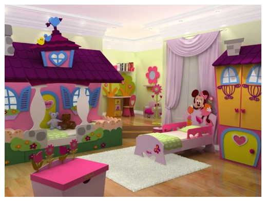 Nice Minnie Mouse Bedroom