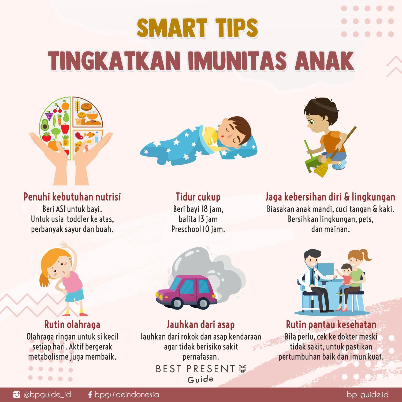 Smart Tips Tingkatkan Imunitas Anak Nutrisi Anak Anak Tips