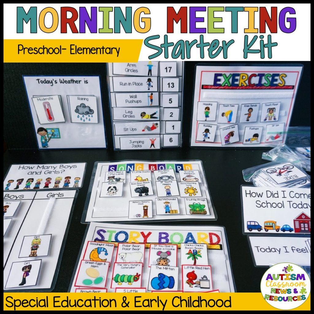 How To Run The Best Special Education Morning Meeting