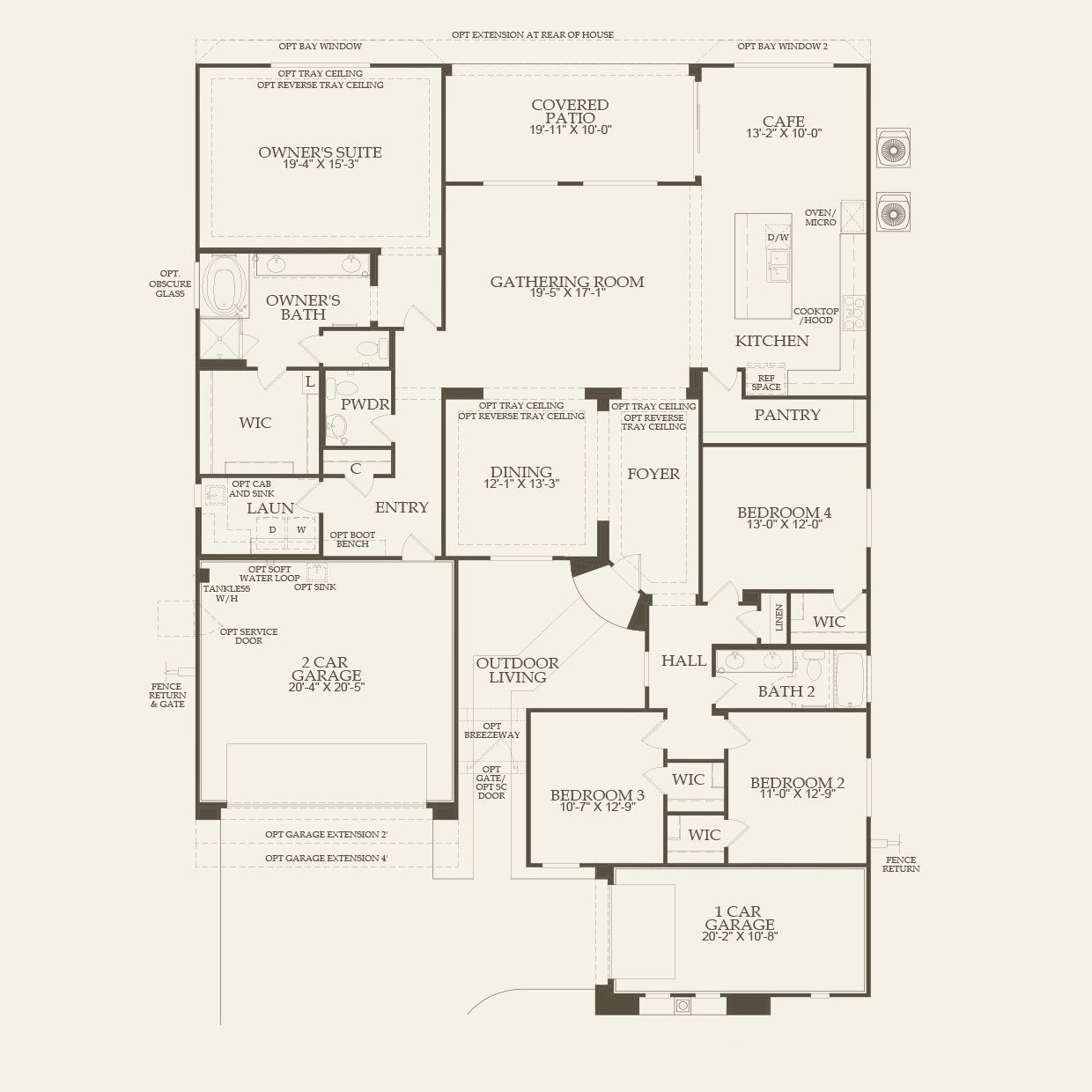 Pulte homes catalina floor plan new home hunting for Sun country homes floor plans