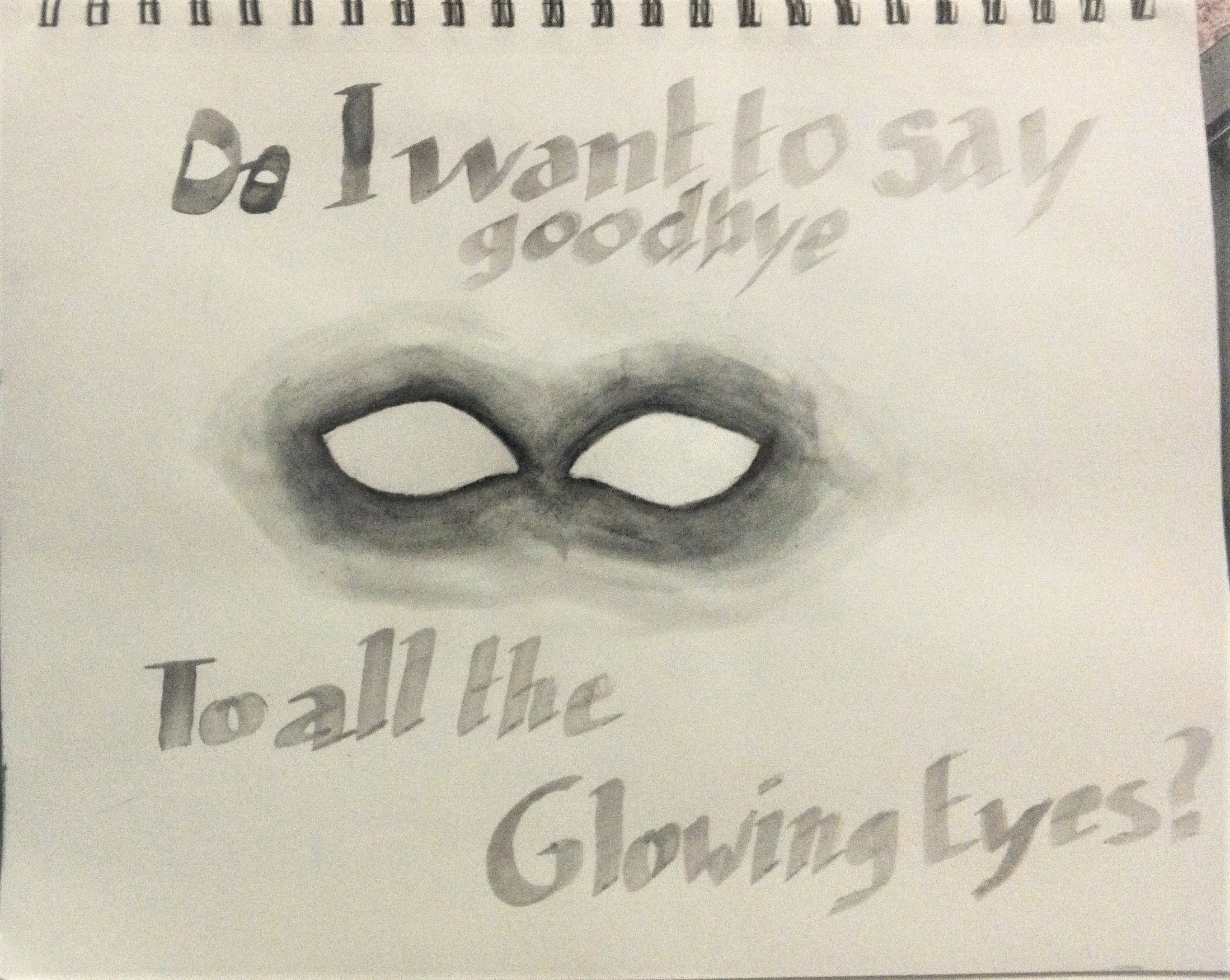 Glowing Eyes Lyrics