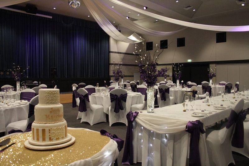 Toowoomba Weddings Highfields Cultural Centre Purple Wedding