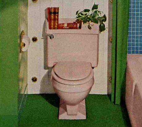 A Planter Top Toilet Tank Lid From Eljer Boho Bathroom Bathroom Wallpaper Waterproof Diy Bathroom Decor