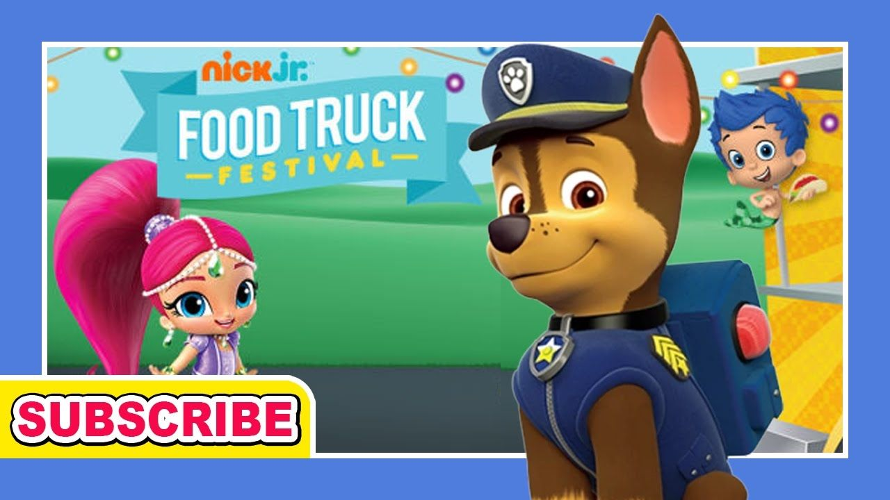 Nick Jr.: Food Truck Festival - for KIDS | GAMES CHANNEL for ALL ...